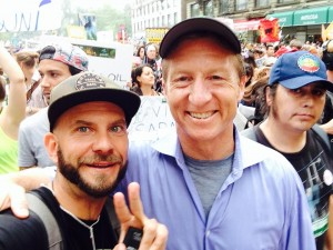 Brett and Tom Steyer